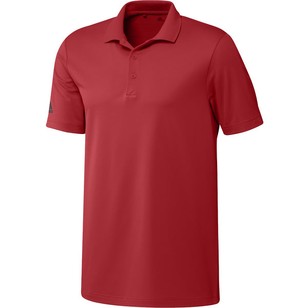 Official Team Canada adidas Mens's Polo – collegiate red