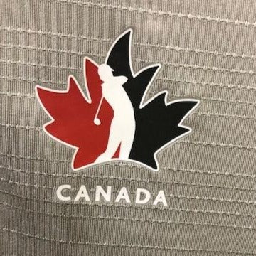 Official Team Canada adidas Women's Polo - mgh solid grey
