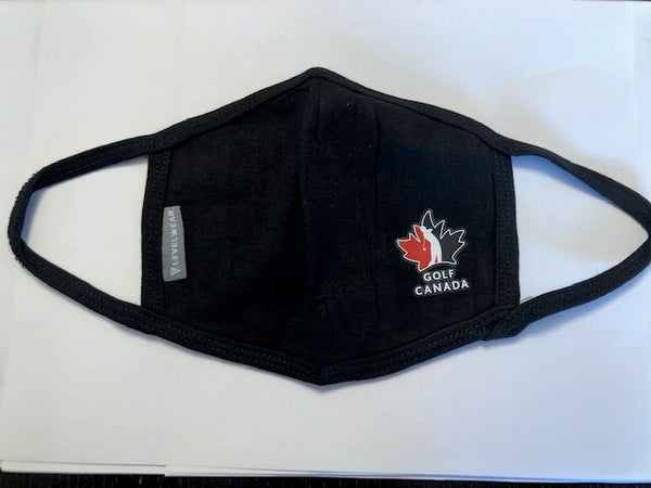 Golf Canada Reusable Face Cover (Mask) - 3 PACK