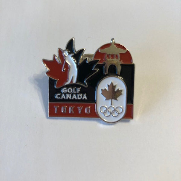 Golf Canada Olympic Pin - Tokyo 2021