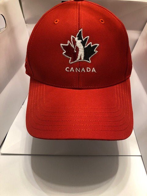 Official Team Canada adidas Player Hat- Red