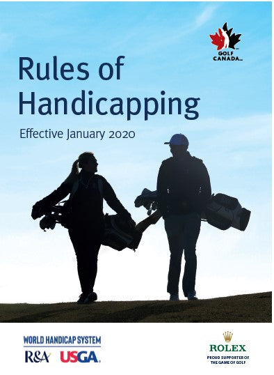 Rules of Handicapping