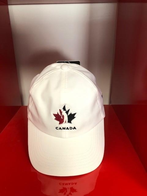 Official Team Canada adidas Women's Hat – white/white