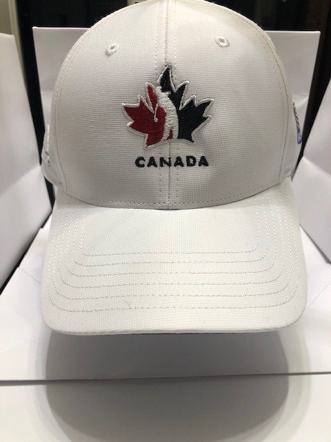 Official Team Canada Adidas Player Hat- White