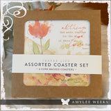 Set of Boxed Coasters - All Things (Romans 8:28)