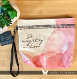 Canvas Pouch - Do Everything In Love