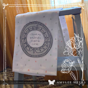 BE YOU Collection Cotton Dish Tea Towel