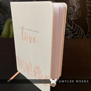 Linen Journal - Love