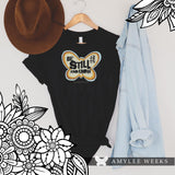 Be Still butterfly tee