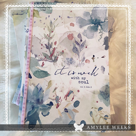 Prayer Journal - It Is Well