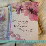 Bible Companion Journal - God Speaks - artwork by Amylee Weeks