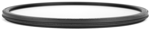 An ultra slim Formatt Hitech round threaded circular polarizer