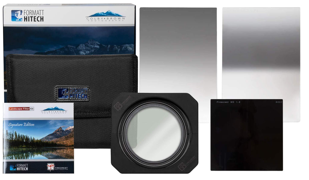 Firecrest Ultra/Pro Colby Brown SE 100mm Premier Landscape Kit + Firecrest 100mm Holder Kit - Formatt Hitech USA