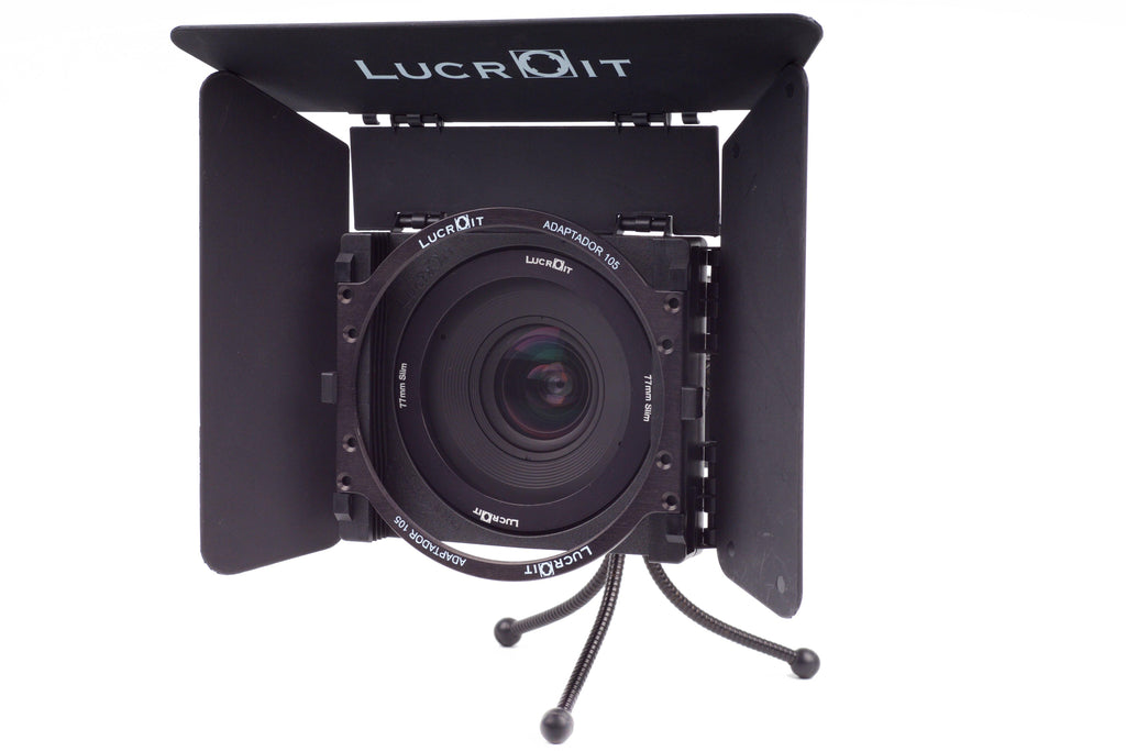 LucrOit 100mm Filter Holder with Slot Adapters, Flags, and Adapter Ring Kit - Formatt Hitech USA