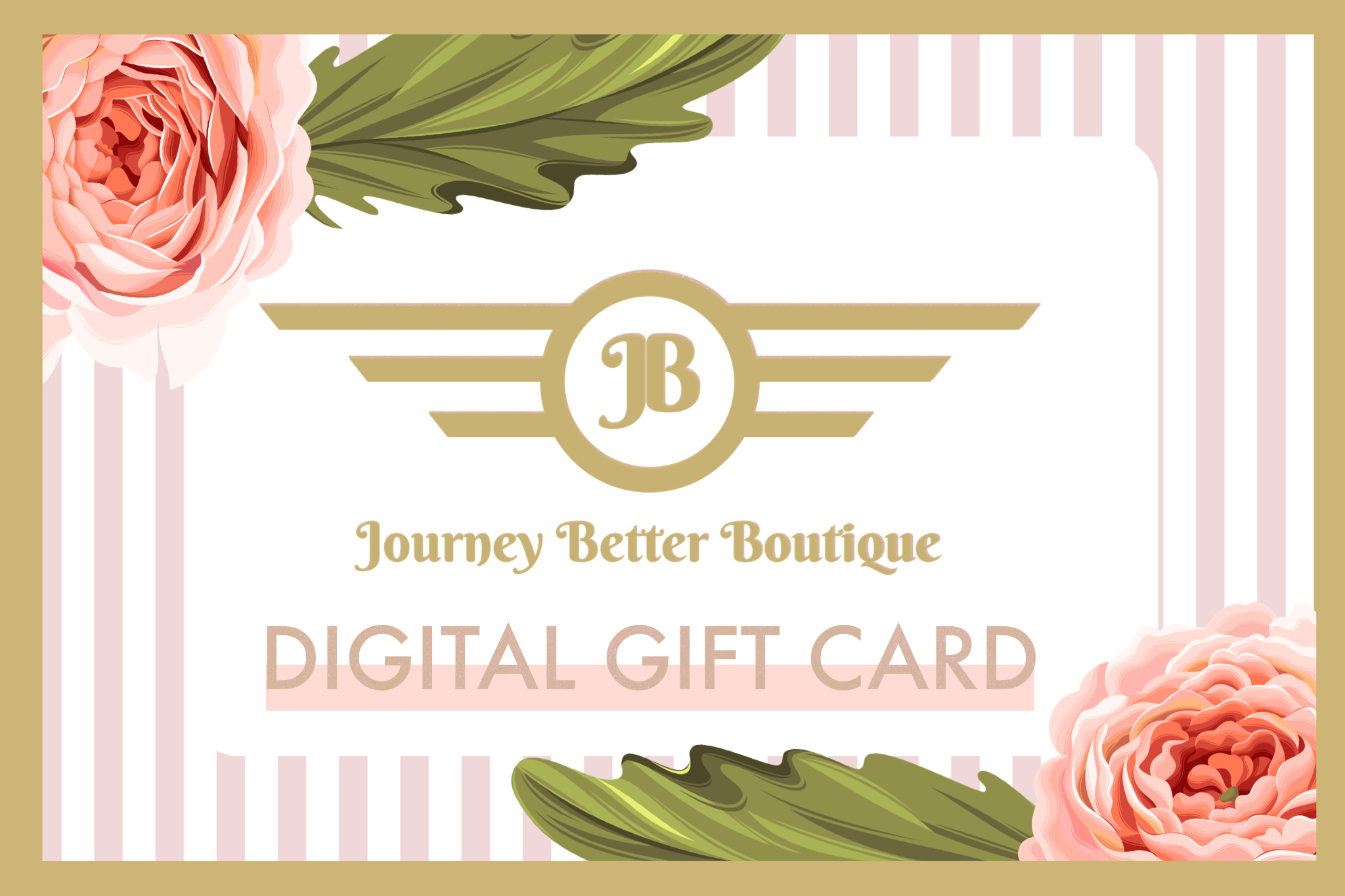 Journey Better Boutique Gift Card