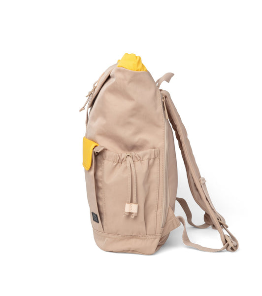 Lieu Backpack in Camel x Butter Scotch