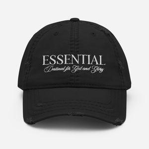 ESSENTIAL Distressed Dad Hat