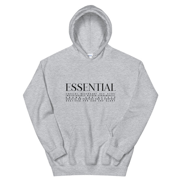 ESSENTIAL DEFINITION || 2XL - 5XL Unisex Hoodie