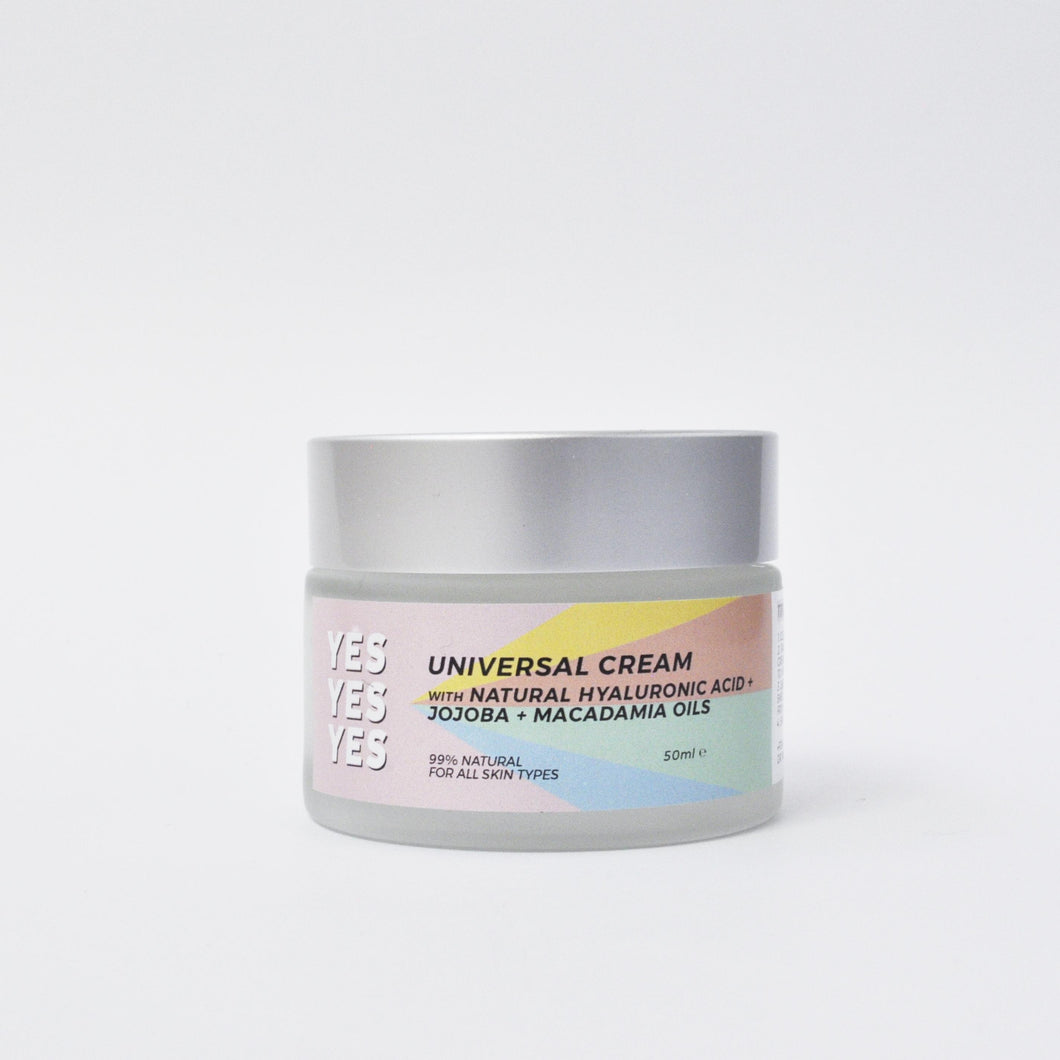 Universal cream for all skin types