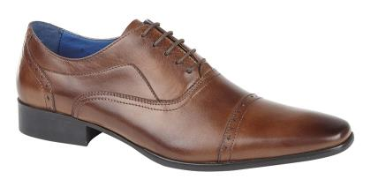Burnished Tan Shoes