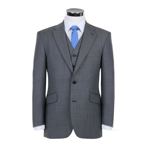 Plain light grey jacket ss10123j2
