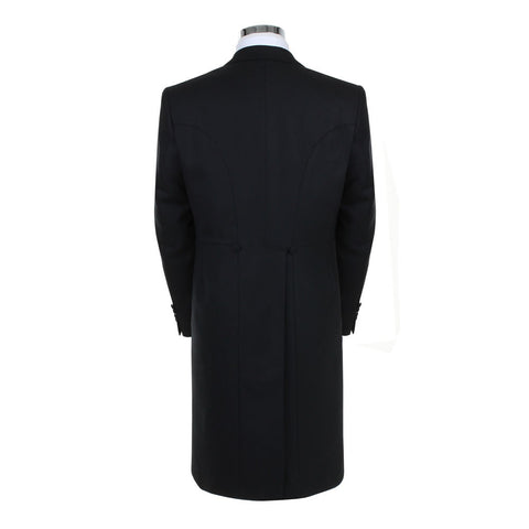 Black Herringbone Tailcoat