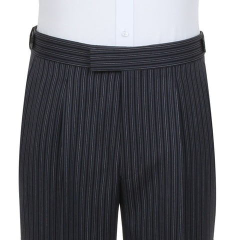 Charcoal Stripe Trousers  (SS10141T1)