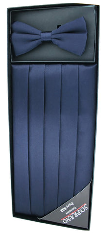 Soprano Cummerbund and Bow Tie Set