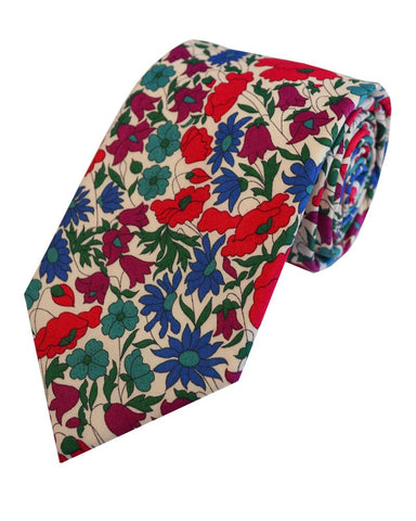 Liberty Print Tie and Matching Hankie