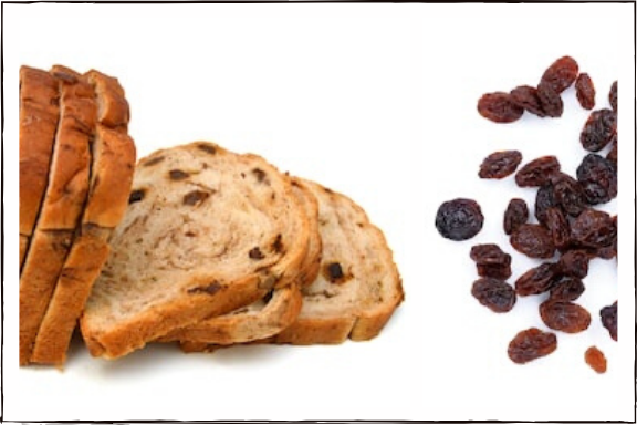 Raisin Toast Bread