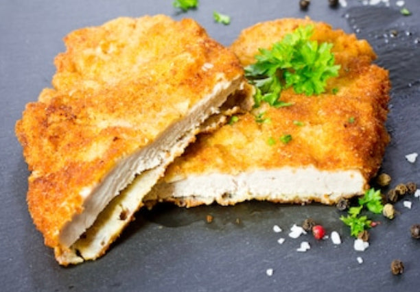 Homemade Panko Crumbed Chicken Schnitzel 6pk