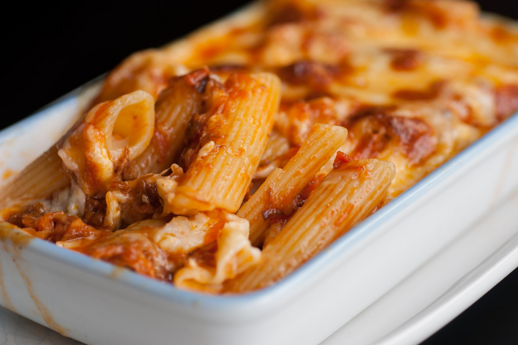 Cheesy Beef Pasta Bake