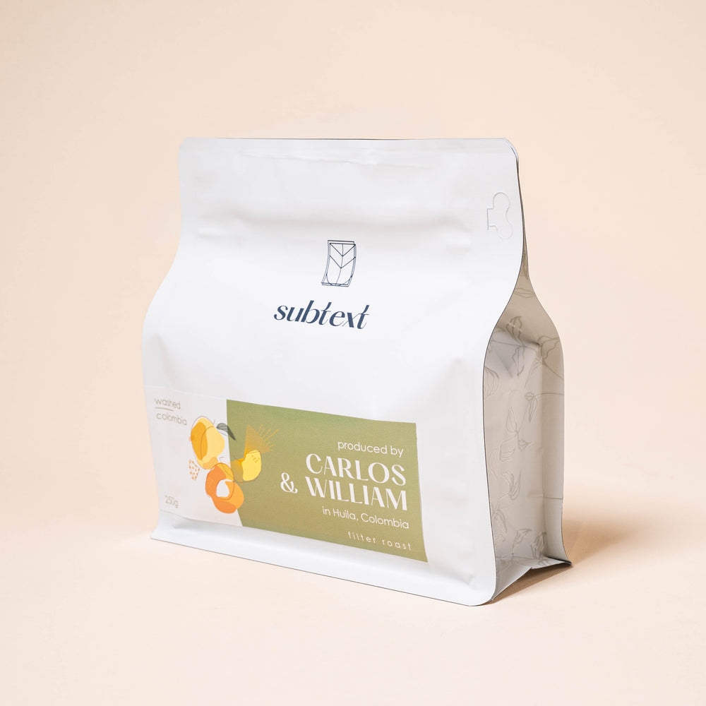 SAMPLE Colombia Carlos & William, Acevedo Cup 4th Place (100g)