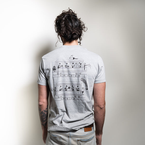 Boxcar Train T-Shirt