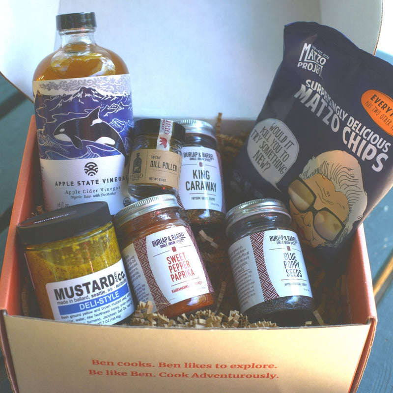 What to do with: Taste of Ashkenazi Cuisine Box