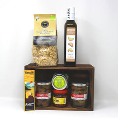 What to do with: Italy Delicacies Box