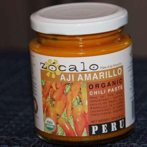 Organic Ají Amarillo Paste