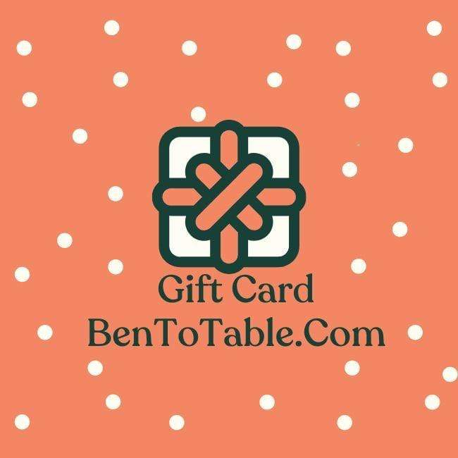 Ben to Table Gift Card