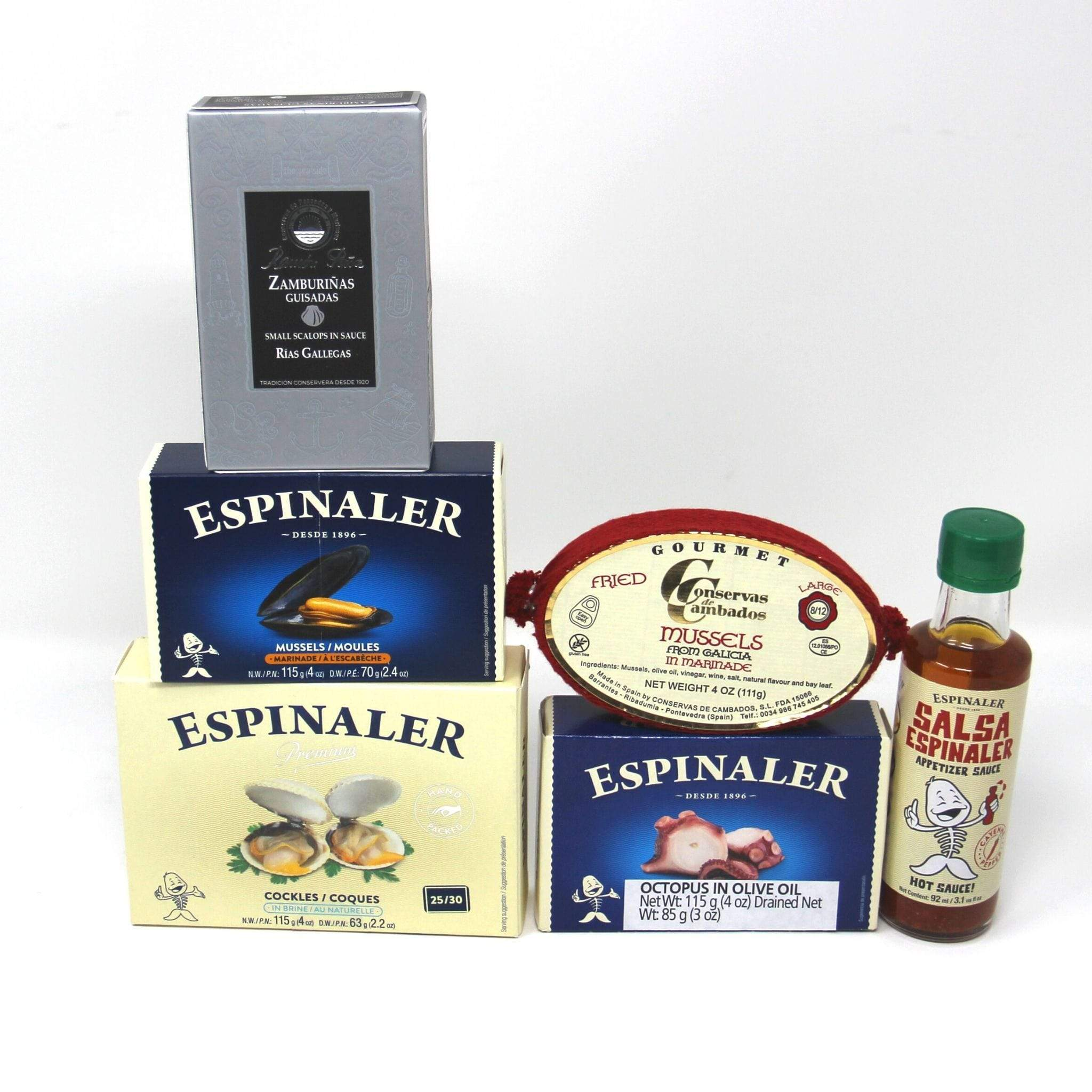 Ben to Table Tinned Seafood Easy serve bundle