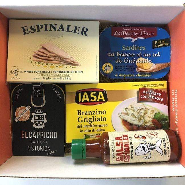 Ben to Table Tinned Seafood Fish Bundle (No Shellfish)