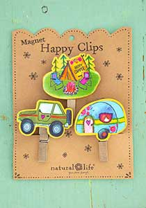 Happy Camper Magnet Happy Clips