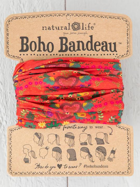 Red Hearts Boho Bandeau™