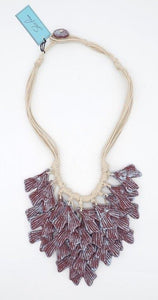 Claudie Recycled Paper Necklace