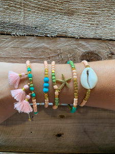 Flamingo Sea Bracelet set