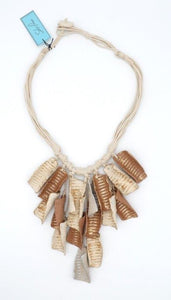 Mendi Recycled Paper Necklace