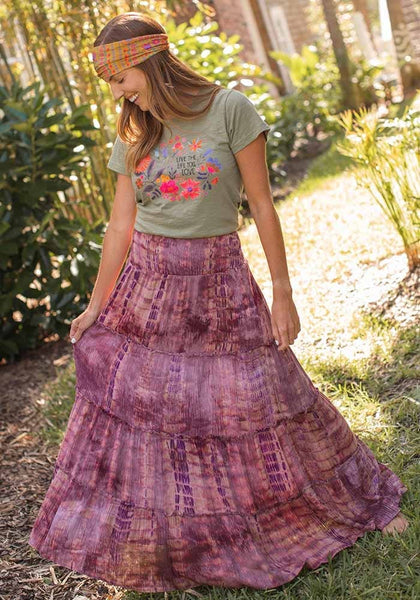 Purple Red Hanna Skirt/Dress