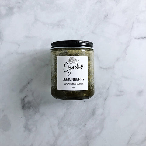 Lemonberry Sugar Body Scrub 8 oz.