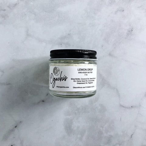Lemon Drop Shea Body Butter 2 oz.