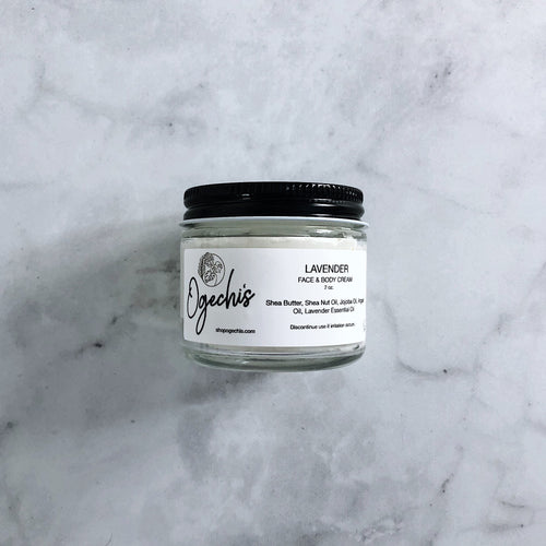 Lavender Face & Body Cream 2 oz.