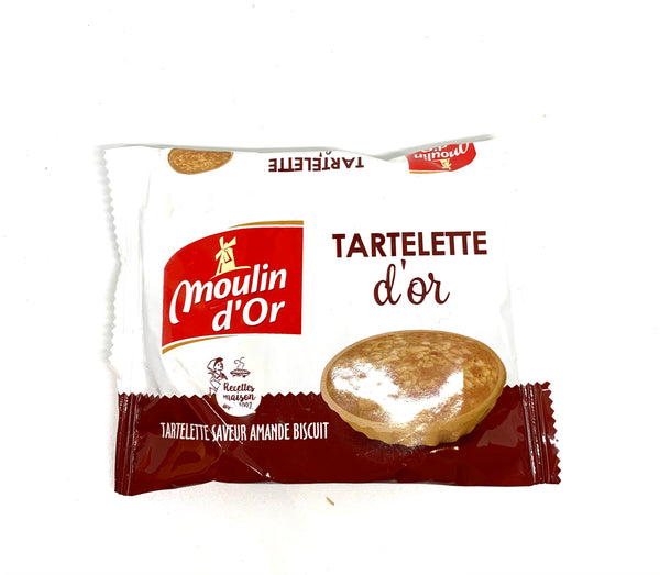 Tartelette d'or saveur amende biscuit Moulin d'or